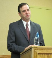 Representative Pat Garofalo accepts 2011 Charter School Champion Award