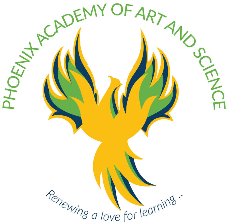 Phoenix Academy of Art and Science Logo